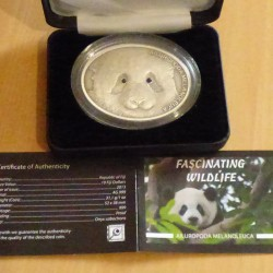 Fiji 10$ 2013 Panda 1 oz...