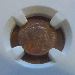 copy of France 1 cent...