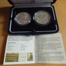 Italy 5+10 euros 2004...