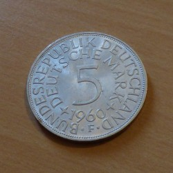 Germany 5 Mark 1960 F...