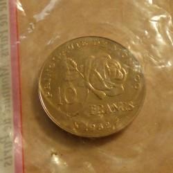 MONACO 10 francs ESSAI...