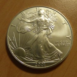 US 1$ Silver Eagle 2001 1oz...