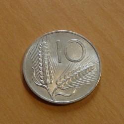 Italy 10 lira 1956 aluminum...