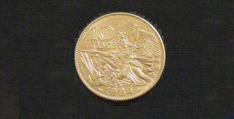 France 10 Francs 1984 RUDE cupro-nickel SPL